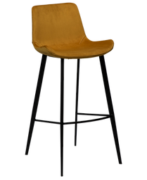hype-bar-stool-bronze-velvet-with-black-