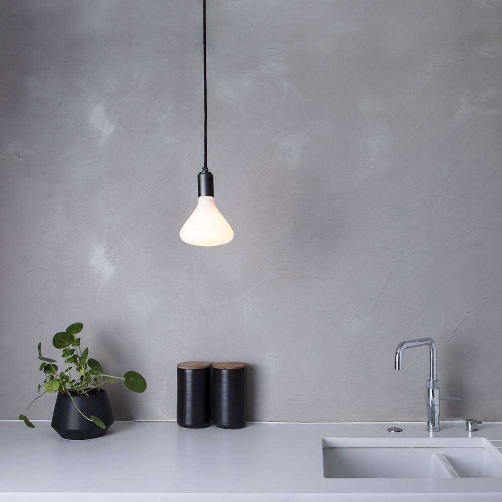 Noma-Porcelain-led-bulb-graphite-pendant