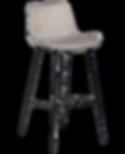 hype-bar-stool-alu-velvet-with-black-met