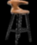 flair-bar-stool-vintage-light-brown-art-