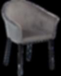 kite-chair-alu-velvet-with-black-metal-l