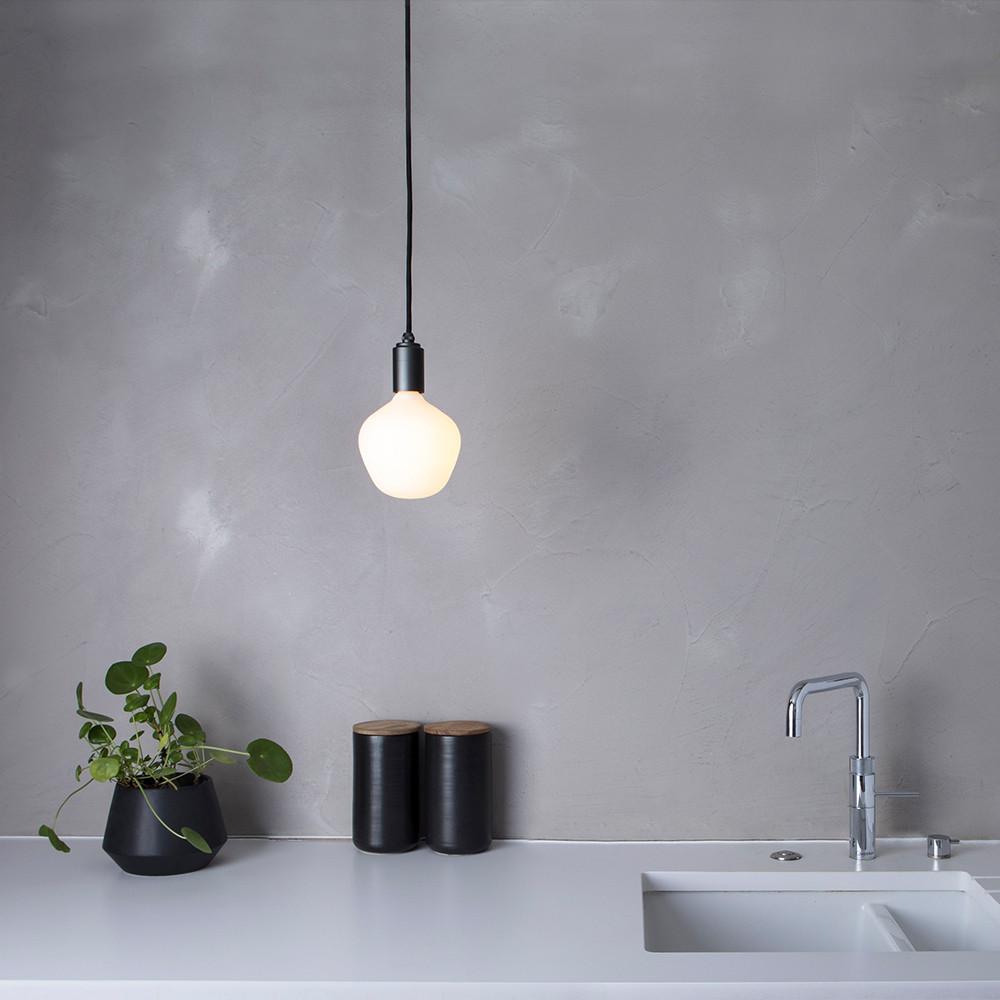 Enno-Porcelain-led-bulb-graphite-pendant
