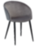 dual-chair-alu-velvet-with-black-conical