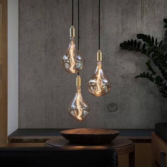 Voronoi-2-decorative-led-bulb-Brass-Pend