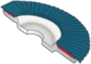 Anatomia do disco flap
