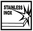Aplicação em inox