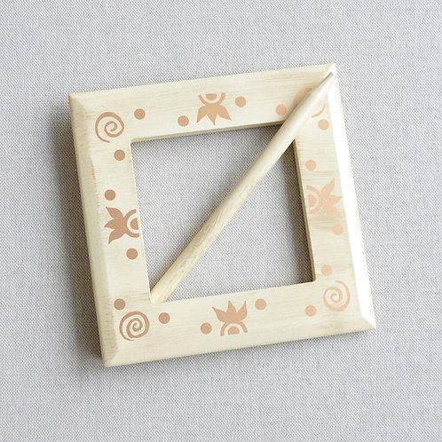 Подхват-заколка деревянная «Анды»