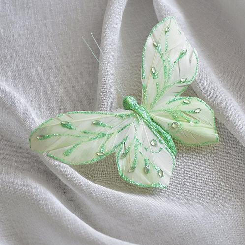 Заколки булавки бабочки, аксессуары для штор, букетов, цветов, булавки бабочки декоративные, украшения для занавесок.