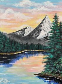 Mountains & Sunset!