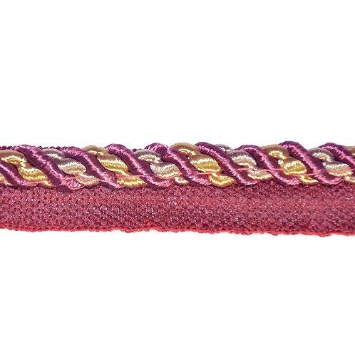 Шнур для декора, шнур втачной, шнур вшивной, шнур настрочный, шнур витой, шнур кант с ресничкой, шнур с тесьмой, окантовочный