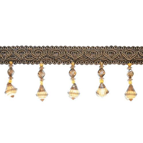 Тесьма сутажная со стеклярусом, тесьма с бусинами, тесьма плетеная с кристалликами, шторная фурнитура, тесьма отделочная.