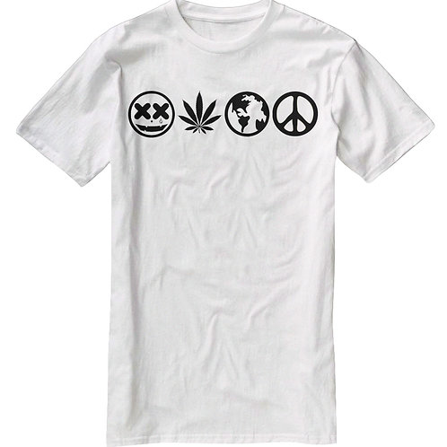 APPLIED KNOWLEDGE OF WEED WILL CAUSE WORLD PEACE TEE