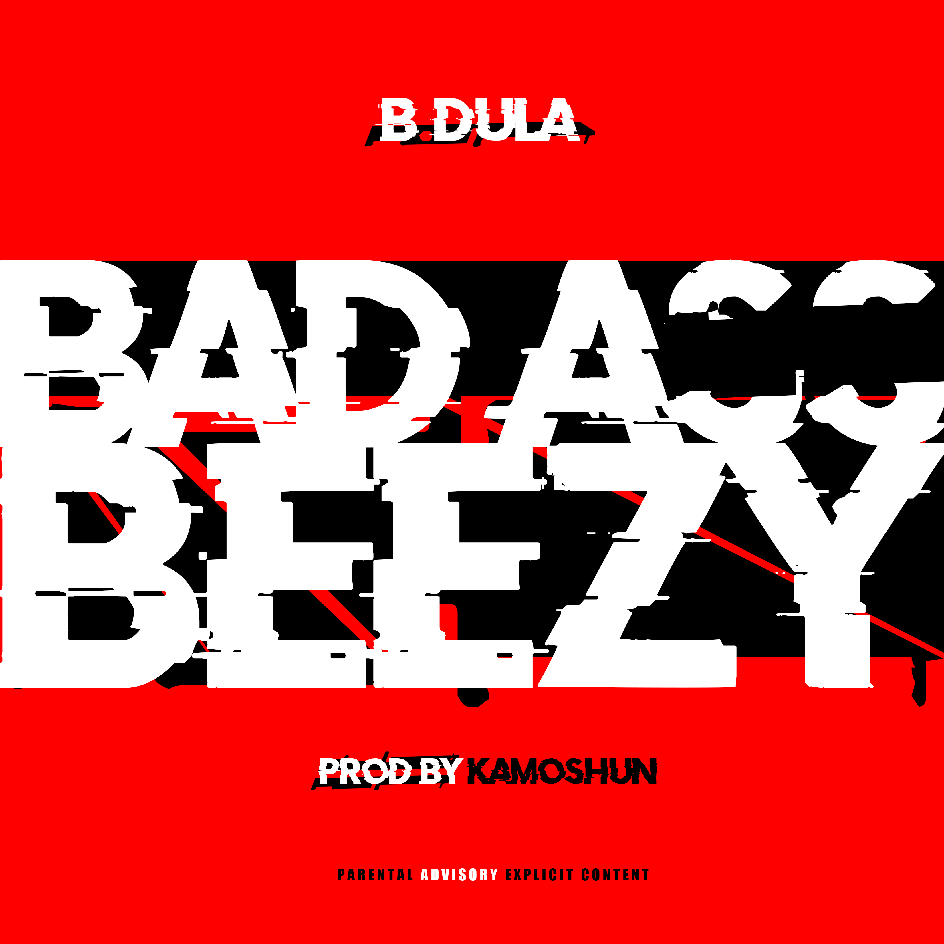 B DULA BAD ASS BEEZY COVER