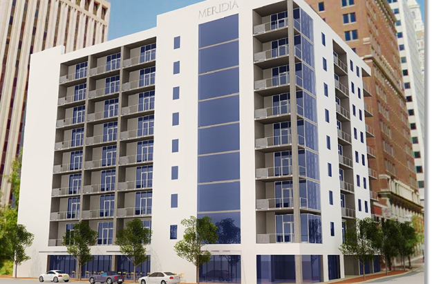 TULSA WORLD: Silver for green: The Meridia multifamily building wins acclaimed LEED silver