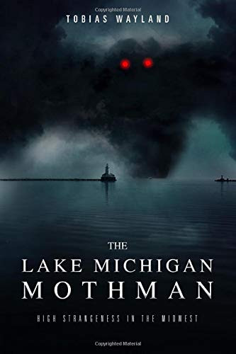The cover of The Lake Michigan Mothman by Tobias Wayland