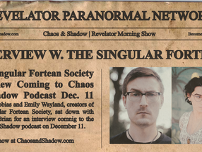 Interview with Tobias & Emily Wayland of The Singular Fortean Society