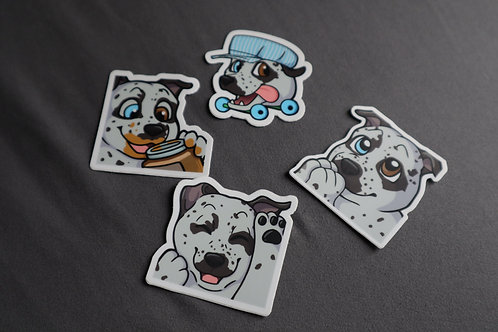 Pack of Louie Stickers (Small)