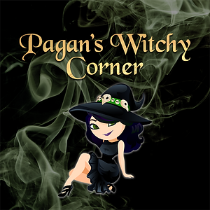 Pagans Witchy Corner Podcast Logo Revela