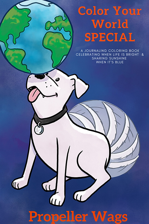 Color Your World SPECIAL Coloring Book and Journal