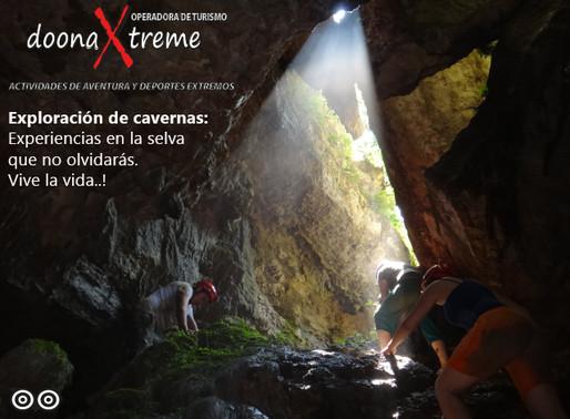 """Explora un Mundo Subterráneo. Las """"Cavernas Lagarto""""."""