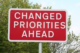 Fall Equinox shift towards prioritization