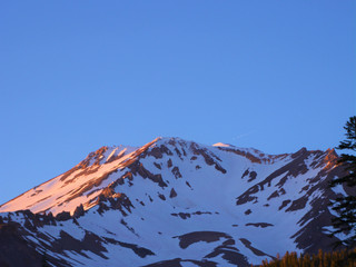 UFO's flying in and out of Mt. SHASTA