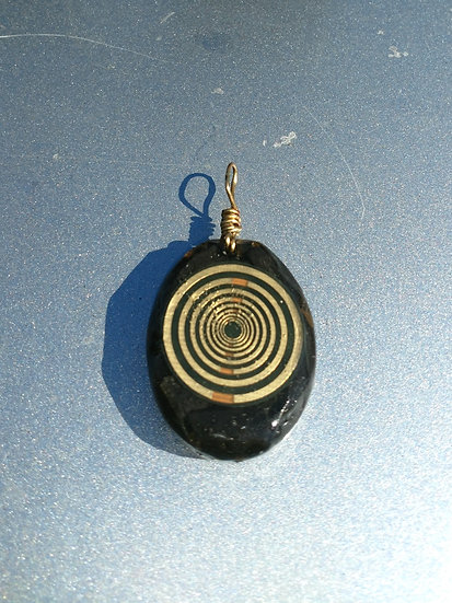 Shungite and Multiwave Oscillator Pendant