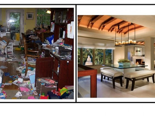 Your House = your mind.  Clean or cluttered is your making