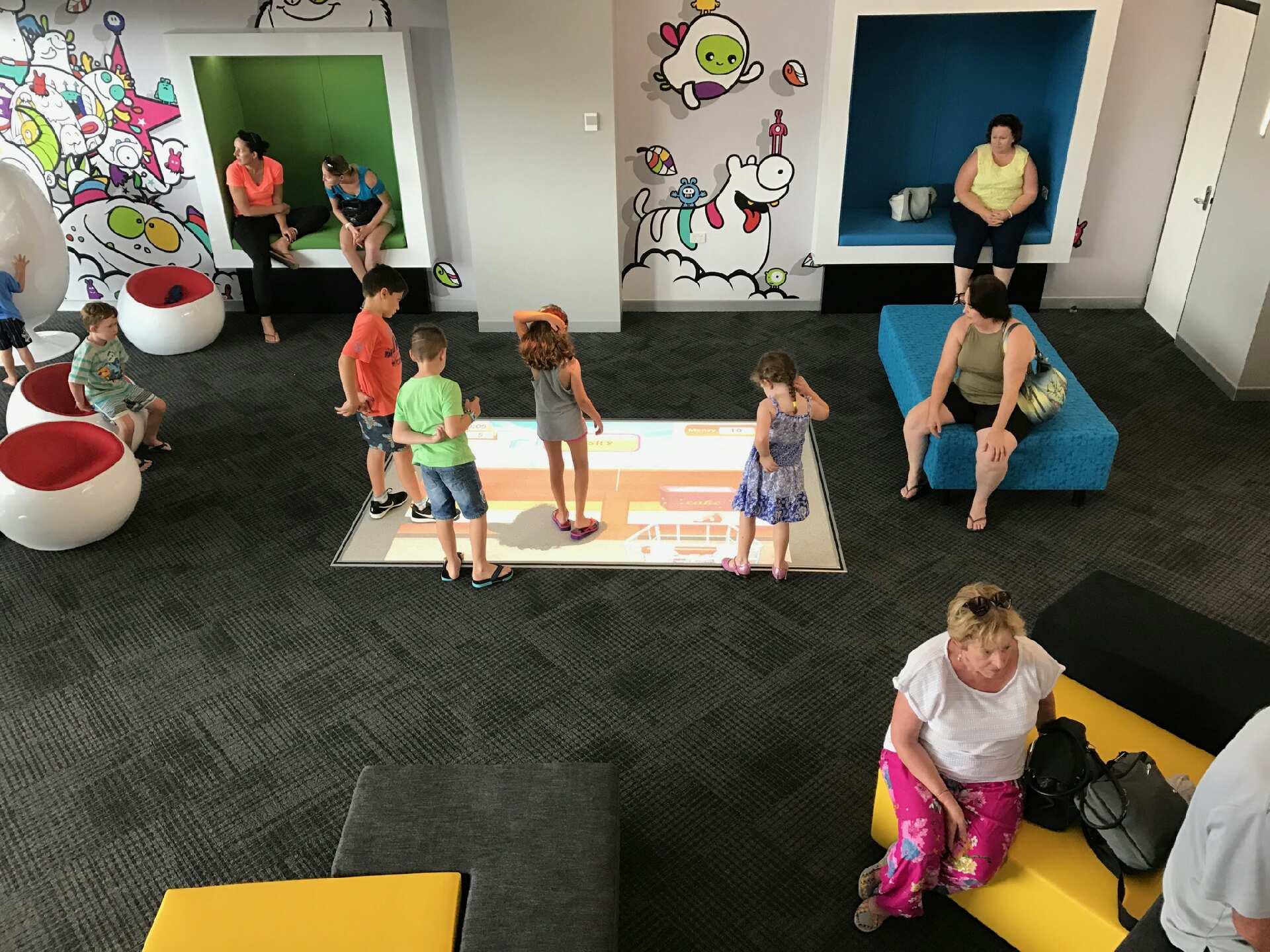 Interactive floor Queensland