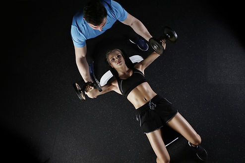 Personal training - active weight training
