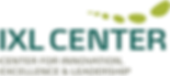 Primary IXL Center Logo