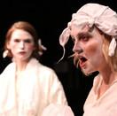 Joan Milburn as Desdemona and Rachel Sather as Emilia.