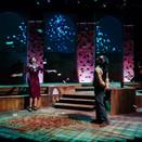 Joan Milburn as Paulinka, Chris Szeto-Joe as Husz, and Rebekkah Sheridan as Agnes.