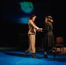 Henrietta and Margaret reuniting in Act II.
