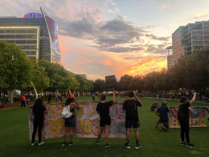 The 100th Day of Dallas Protests