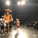 Rehearsal for The Texas Beauty Pageant Murder.