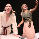 Desdemona getting whipped by Bianca in act II of the play.