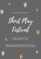 Post for the 2017 Short Play Festival.