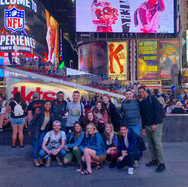 A few members of the SBNYC program in Times Square.