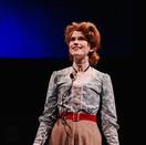 Joan Milburn as Henrietta Leavitt performing the opening monologue of Silent Sky.