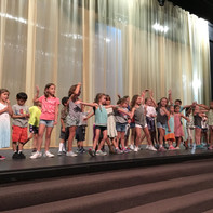 Rehearsal during a DCT summer camp.