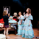 The women share a joint in Act II of Five Women.