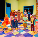 The cast of Sideways Stories form Wayside School.