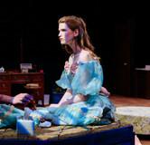 "Joan Milburn as Trisha in ""Five Women Wearing the Same Dress"" at Southwestern University"