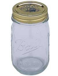 Ball Glass Storage Jar
