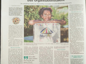 In the newspaper: Luxembourger Wort!