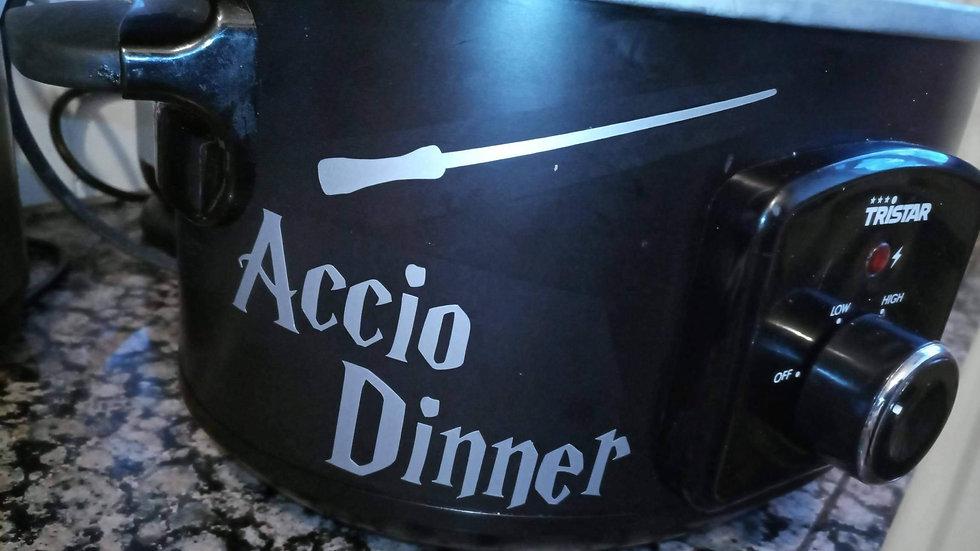 Sticker Accio Dinner