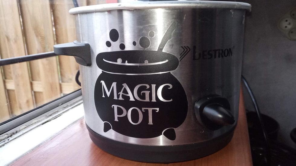 Sticker Magic Pot