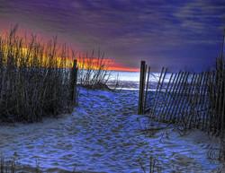 sunset-at-myrtle-beach-sc-dunes-joe-gran