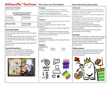 Art Lesson Plan _ Traci Cromer _ Draw Yo